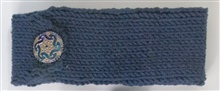 Plain Dark Blue Headband