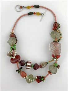 Lava Rocks Necklace